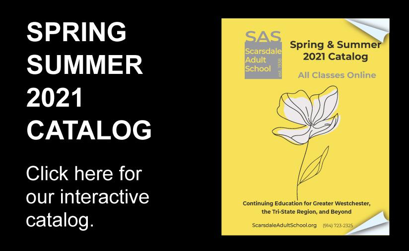 SAS Spring Summer 2021 catalog